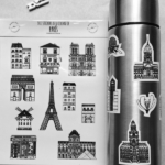 stickers París